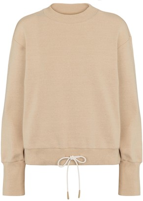 Varley Edith cotton jersey sweatshirt