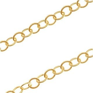 Overstock 14/20 Gold Filled Cable Chain 2.7mm Bulk by The Foot