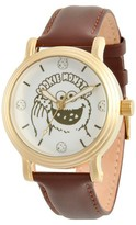 Sesame Street Women's Women's Silver Vintage Alloy Watch - Brown