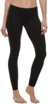 Danskin Black Embossed Dance Leggings - Women & Petite