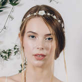 Debbie Carlisle Boho Flower Crown Wedding Headband Loretta