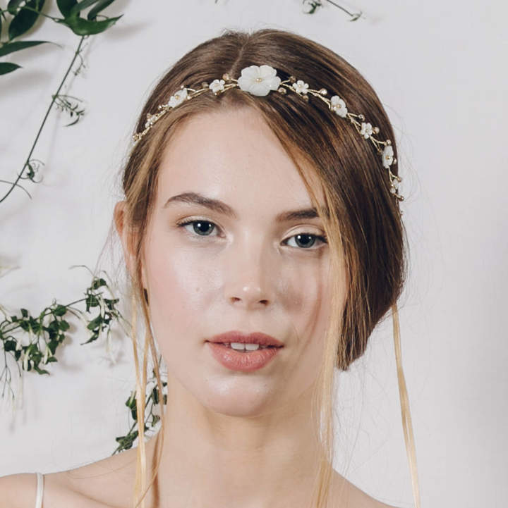 Carlisle Debbie Boho Flower Crown Wedding Headband Loretta