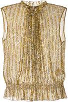 TOMORROWLAND paisley print sleeveless blouse