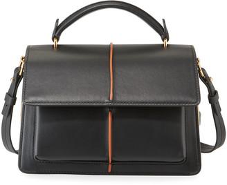 Marni Attache Leather Top Handle Bag