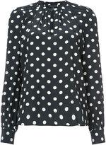 Marc Jacobs polka dot shirt