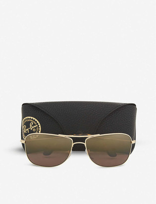 Police RB3543 Chromance square-frame sunglasses