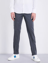Canali Regular-fit stretch-cotton chinos