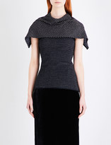 Roland Mouret Collier wool-blend top
