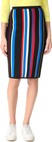Versace Striped Skirt