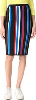 Versace Striped Skirt