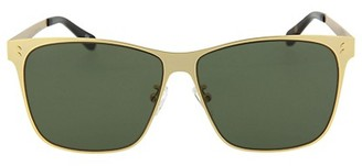 Stella McCartney 64MM Square Core Metal Sunglasses