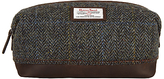 John Lewis Harris Tweed Wash Bag, Brown