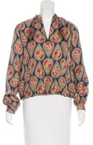 Paul & Joe Silk Floral Top