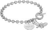 Gucci Boule Bracelet w/ Boot Charm Bracelet