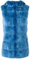 Liska hooded mink fur gilet