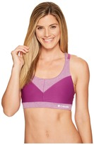 Columbia Heather Block Racerback Bra Women's Bra