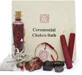 Gemstone Organic Root Chakra Ceremonial Bath