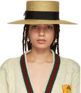 Gucci Gold Alba Hat