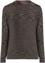Missoni Crew-neck long-sleeved wool sweater