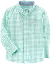 Carter's Toddler Boy Plaid Button-Down Shirt