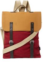 Canvas Messenger Tote Bag