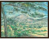 Cezanne The Courtauld Gallery, Paul The Montagne Sainte-Victoire with Large Pine Circa 1882 Print
