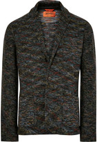 Missoni - Unstructured Knitted Wool Blazer