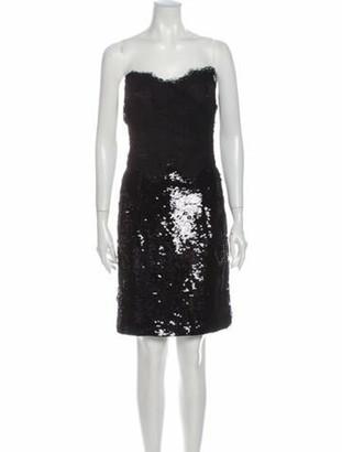 Dolce & Gabbana Strapless Mini Dress w/ Tags Black