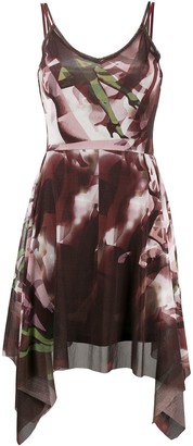 Jean Paul Gaultier Pre Owned 1998 Legs Print Handkerchief Dress