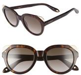 Givenchy Women's 50Mm Retro Sunglasses - Black