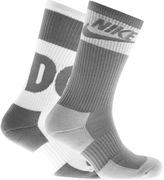 Nike Two Pack Socks Grey