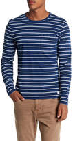 Heritage Stripe Knit Slim Fit Tee