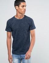 Esprit Raglan Crew Neck T-Shirt with Fleck Detail