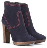Burberry Hazelhurst 115 Suede Ankle Boots