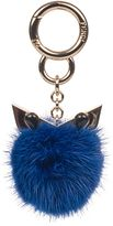 Fendi Bluette Wonders Fur Pendant