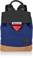 Alexander Wang Prisma canvas and leather backpack