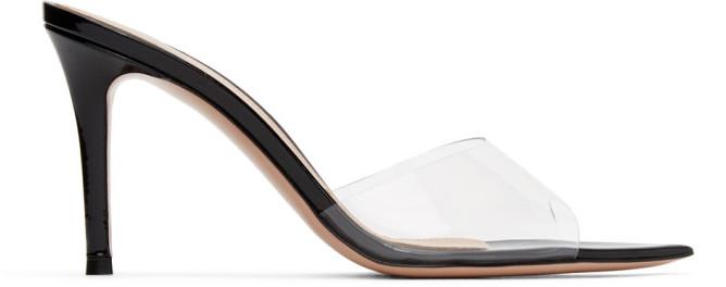 Gianvito Rossi Black Elle 85 Heeled Sandals