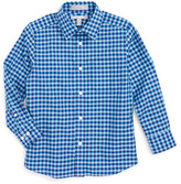 Nordstrom Gingham Woven Shirt (Toddler Boys, Little Boys & Big Boys)
