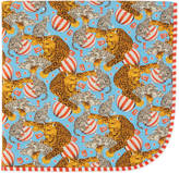 Gucci Circus print baby blanket