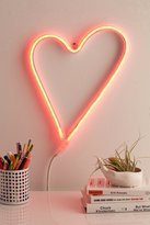 Urban Outfitters LED Heart Sign