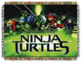 "Northwest Company Nickelodeon's Teenage Mutant Ninja Turtles 48"" x 60"" Triple Woven Tapestry Throw"