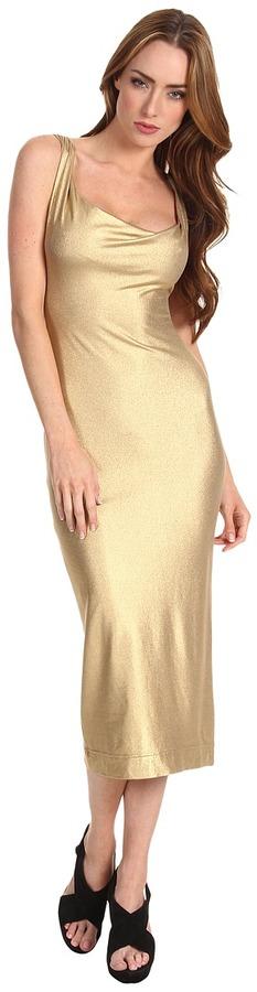Vivienne Westwood Liz Dress (Gold) - Apparel