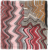 Missoni zigzag knitted scarf - women - Acrylic/Polyamide/Wool - One Size