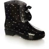 Glamorous Polka Dot Welly Boots