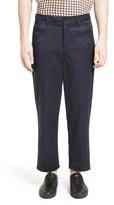 Acne Studios Men's Allan Cotton Blend Crop Trousers