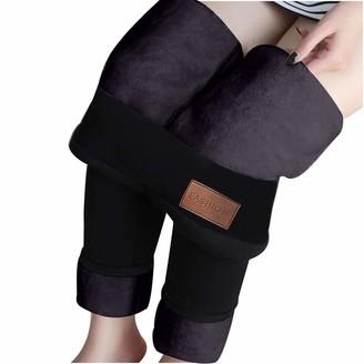 Jiegorge Pants Fashion Casual Women Printed Span Ladies High Waist Keep Warm Long Pants
