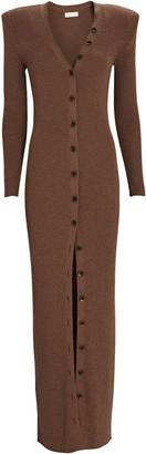 Ronny Kobo Vianne Rib Knit Maxi Dress