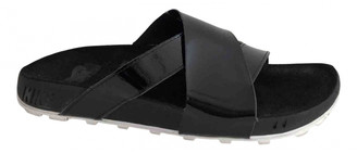 Nike Black Patent leather Sandals