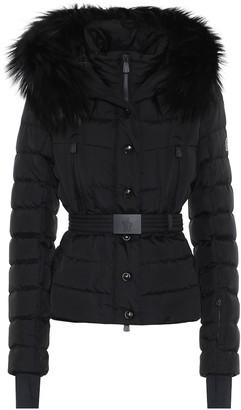 Moncler Beverley fur-trimmed ski jacket