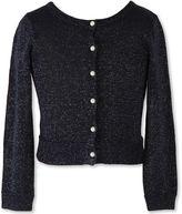 Speechless Long Sleeve Sweater Knit Cardigan - Big Kid